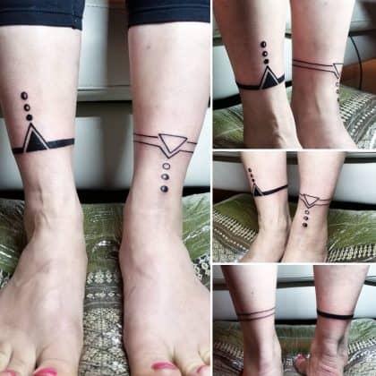 tattoo black lines by @humo_maya