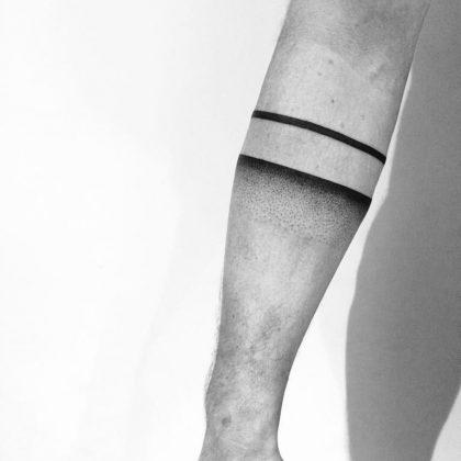 tattoo black lines at @inkdistrictamsterdam by @evavanoverbeeke