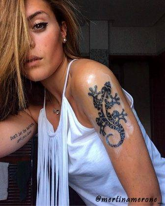tattoo geko maori martinamerone_