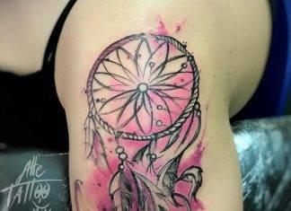 Acchiappasogni Tattoo-by-@alletattoo