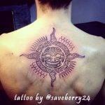 tattoo-sole-maori-by-saveberry24