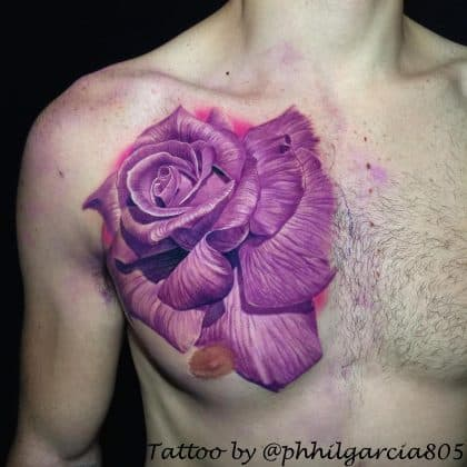 Rosa tattoo by @philgarcia805