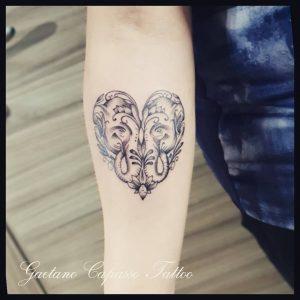 fiore di loto tattoo elefanti by @gaetano_capassotattoo
