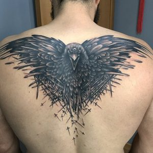 tattoo schiena game of thrones