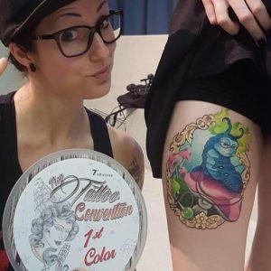 Samantha Pozza Pisa Tattoo Convention 2017
