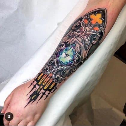 diamante tattoo