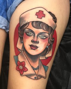 tattoo lavoro crocerossina
