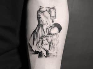 tatuaggio lavoro bartender