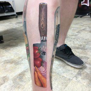 tatuaggio lavoro cuoco