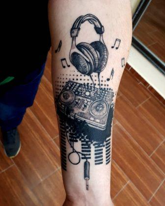 tatuaggio lavoro dj