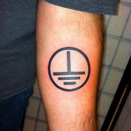 tatuaggio lavoro elettricista