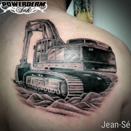 tatuaggio lavoro movimento terra