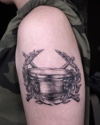 tatuaggio lavoro musicista