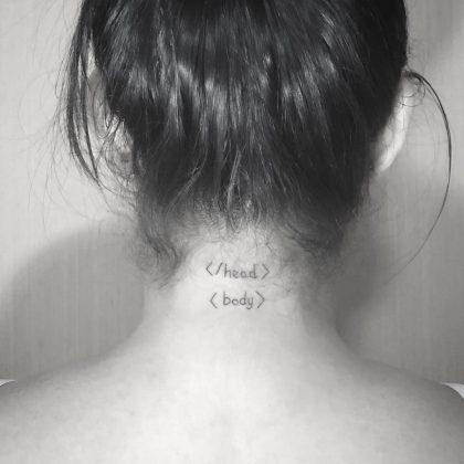tatuaggio lavoro programmatore