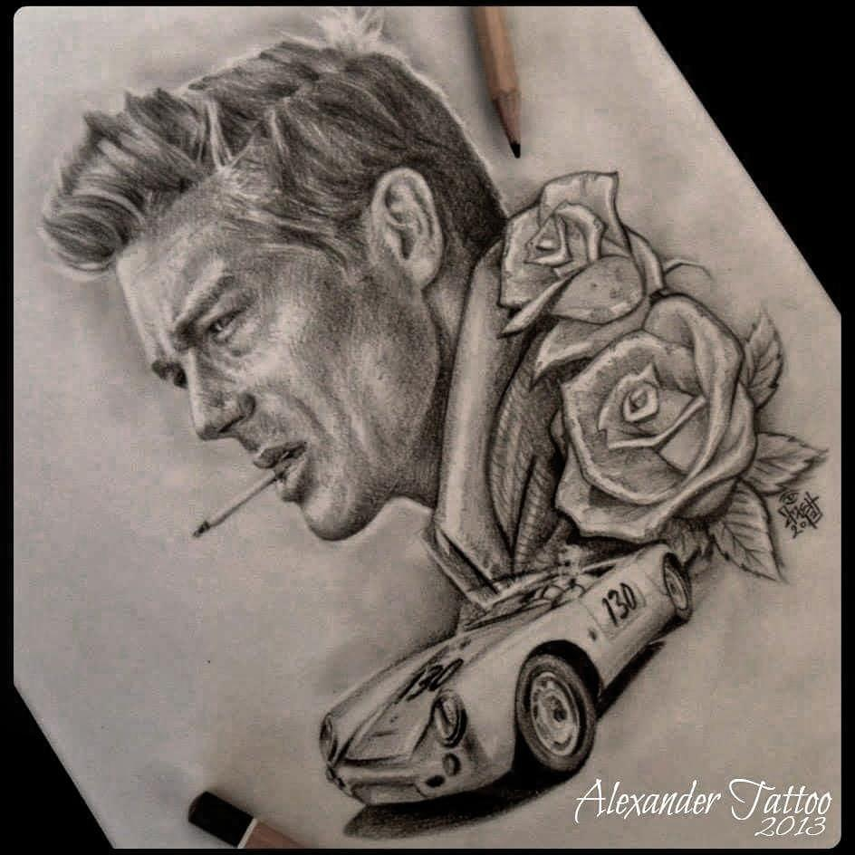 James-Dean-tattoo-by-@alexanderalentattoo