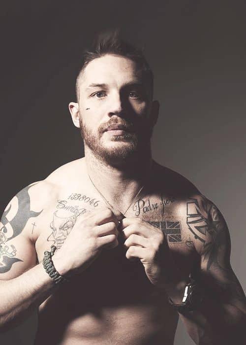 Tattoo Tom Hardy photo credit Cande Tinsley