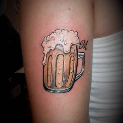 tatuaggio birra by @ricky_alvarez_ta2