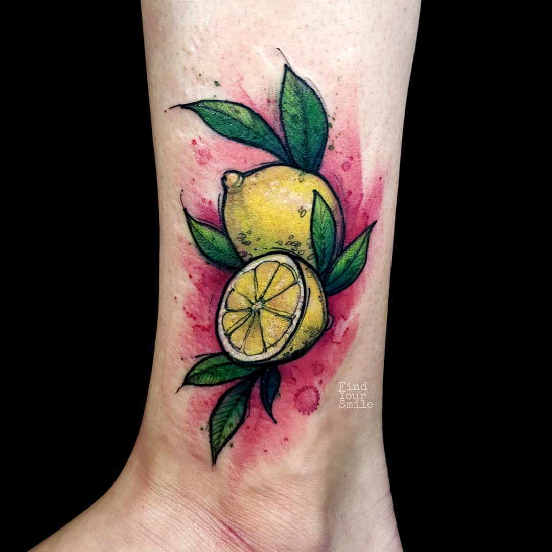 tatuaggio limone by @findyoursmile