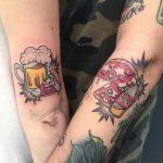 tatuaggio piazza birra by @martyremo