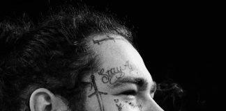 Post Malone new tattoo photocredits @adamdegross