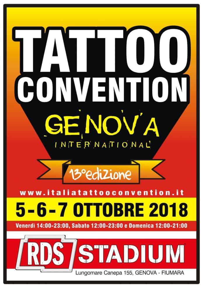 Genova tattoo convention