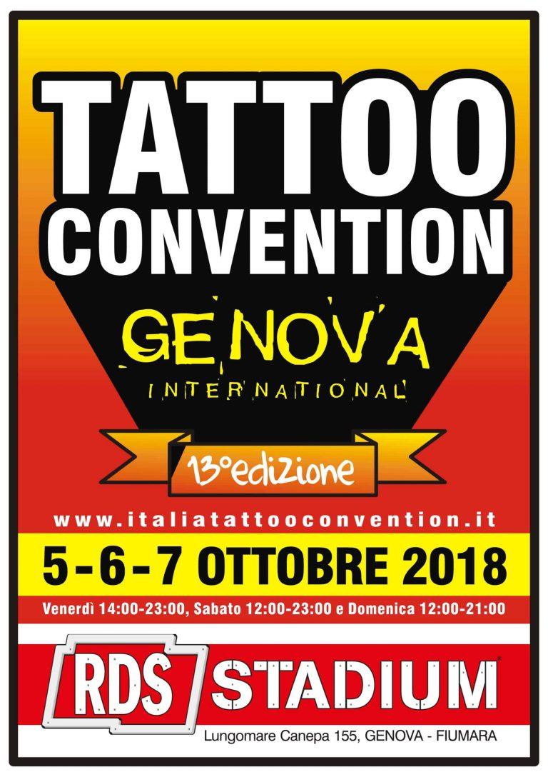 Genova Tattoo Convention 2018