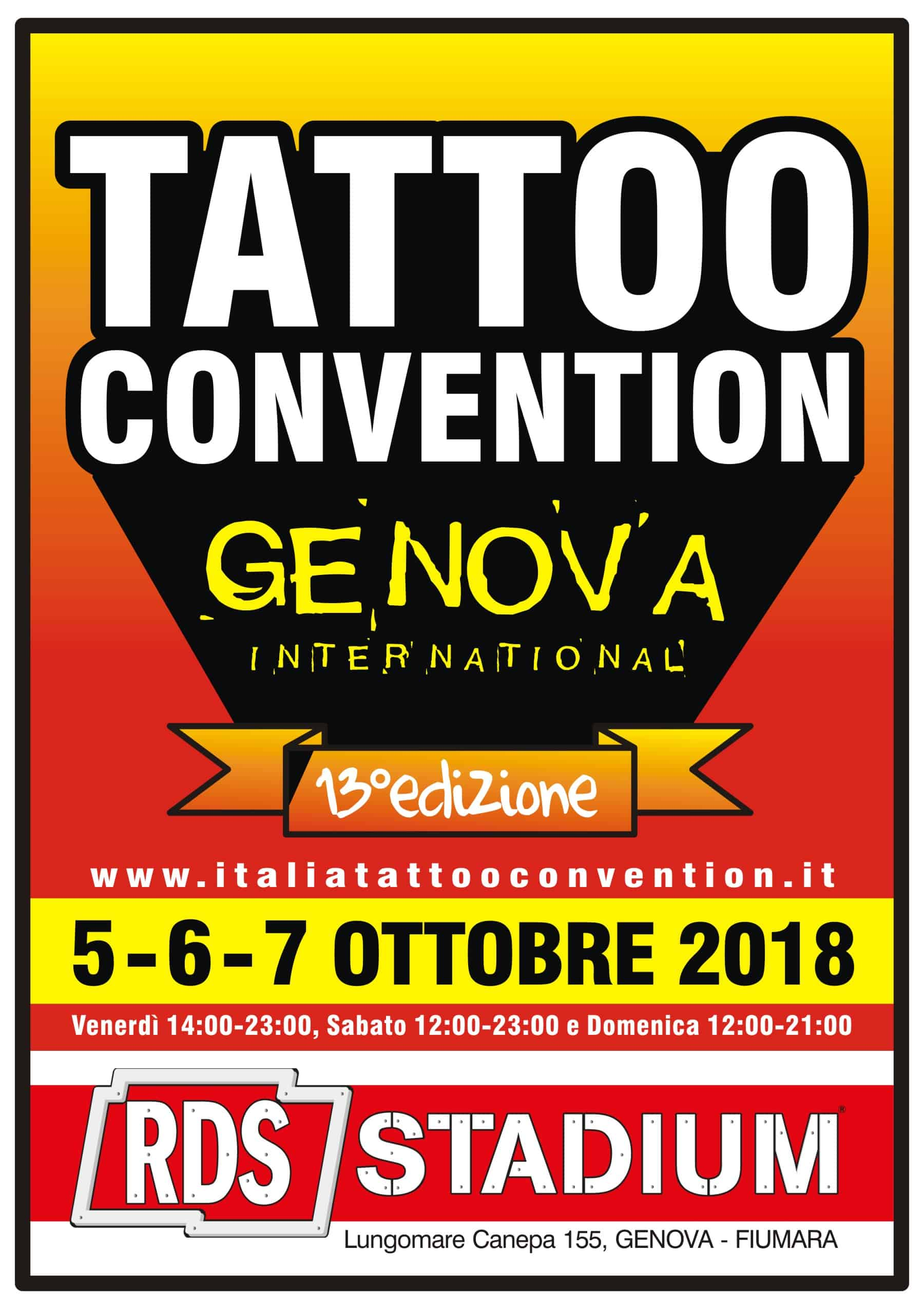 Genova tattoo convention