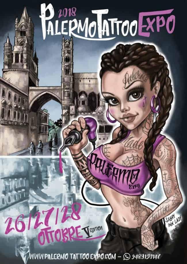 Locandina Palermo Tattoo Expo