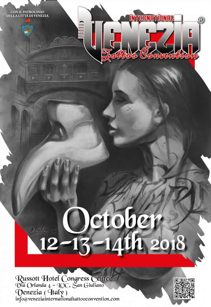Locandina Venezia Tattoo Convention 2018