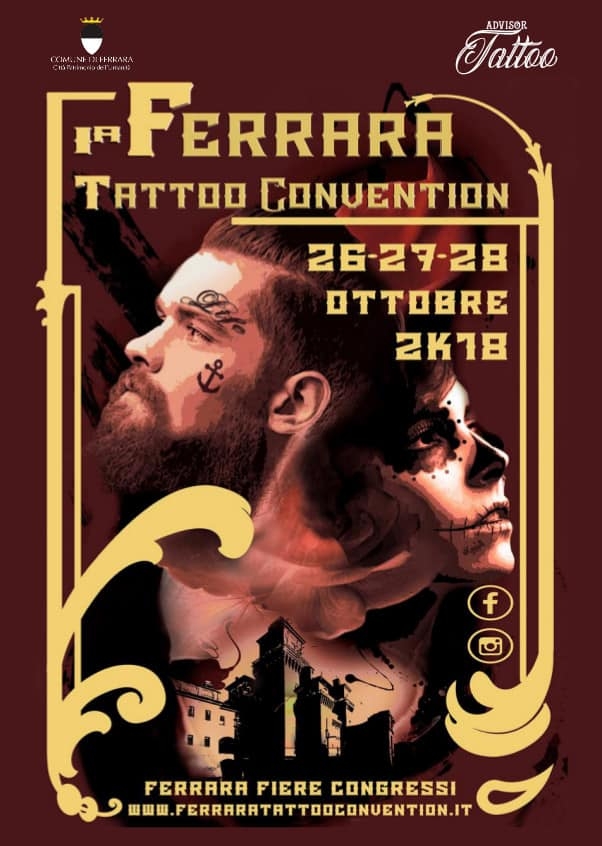 Ferrara tattoo convention locandina