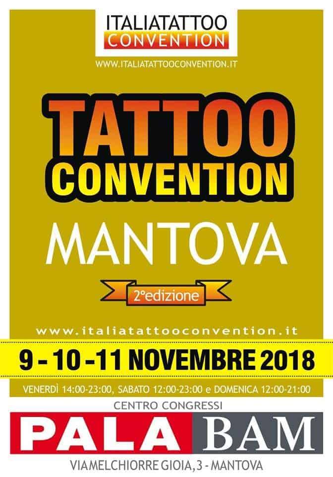 Mantova Tattooo Convention Locandina