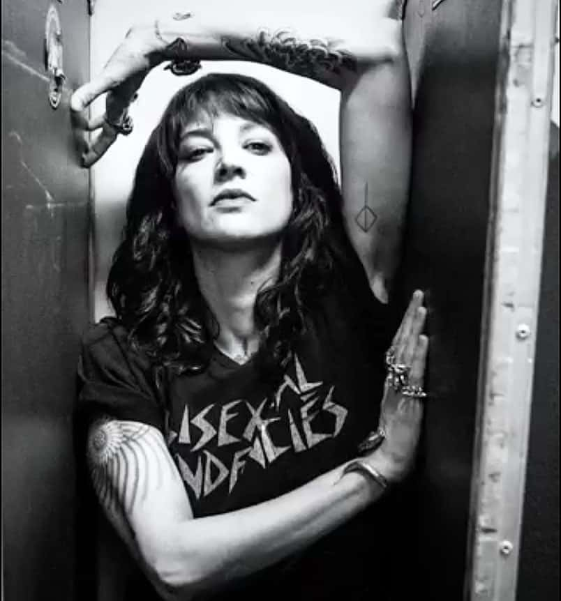 Asia Argento tattoo photocredit @asiaargento