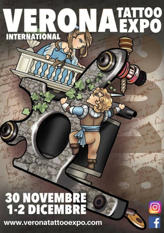 Locandina Verona International Tattoo Expo 2018