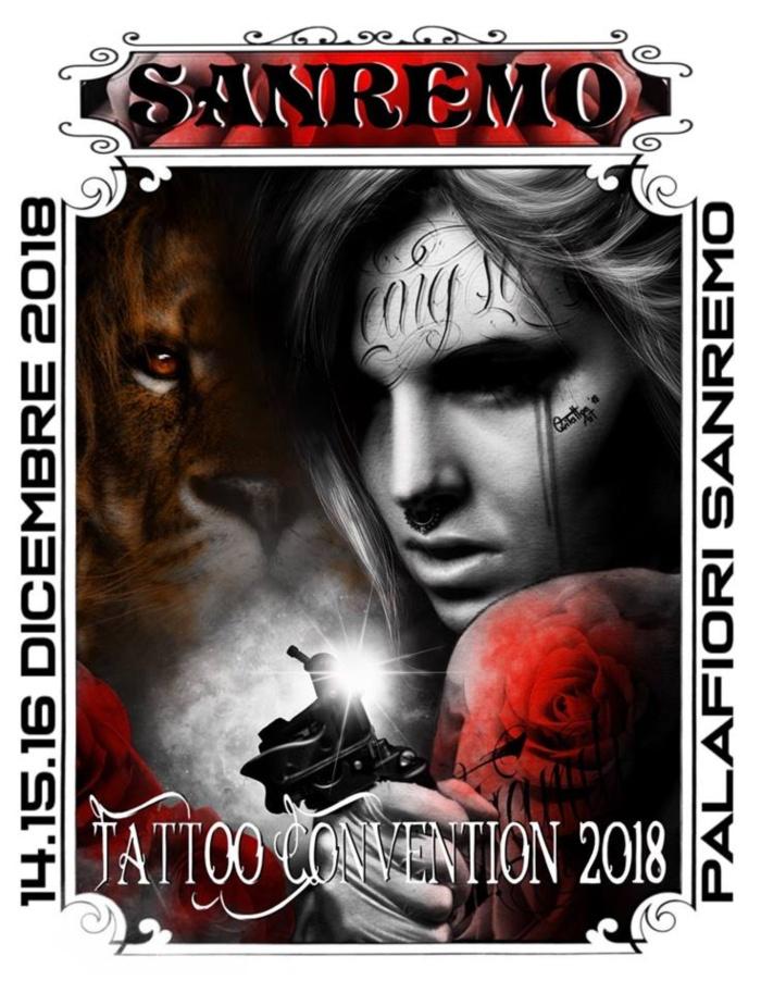Sanremo Tattoo Convention Logo