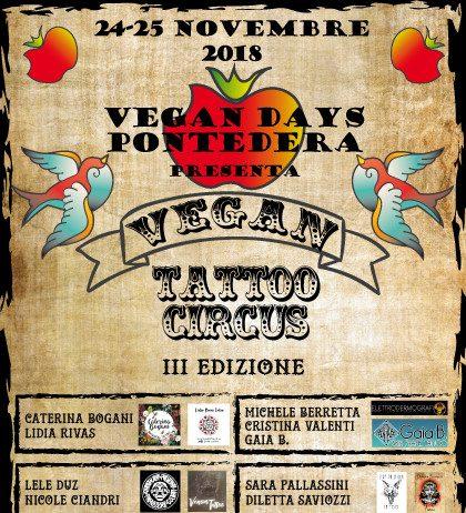Vegan Tattoo Circus Locandina