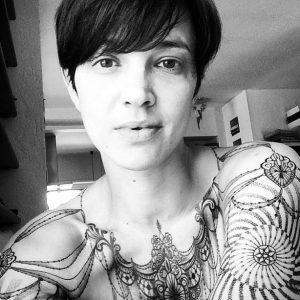 tattoo Asia Argento photocredit @marcomanzotattoo