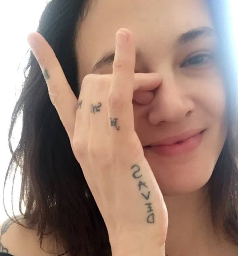 tattoo saved photocredit @asiaargento