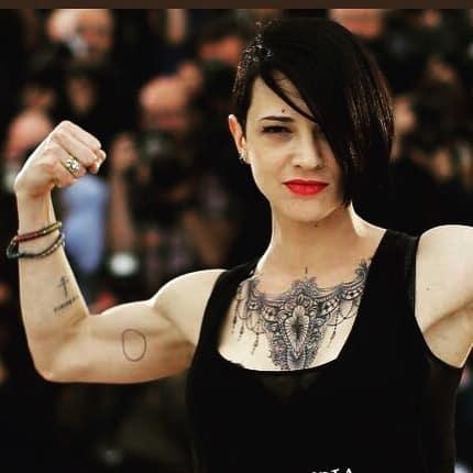 tatuaggi braccio photocredit @asiaargento