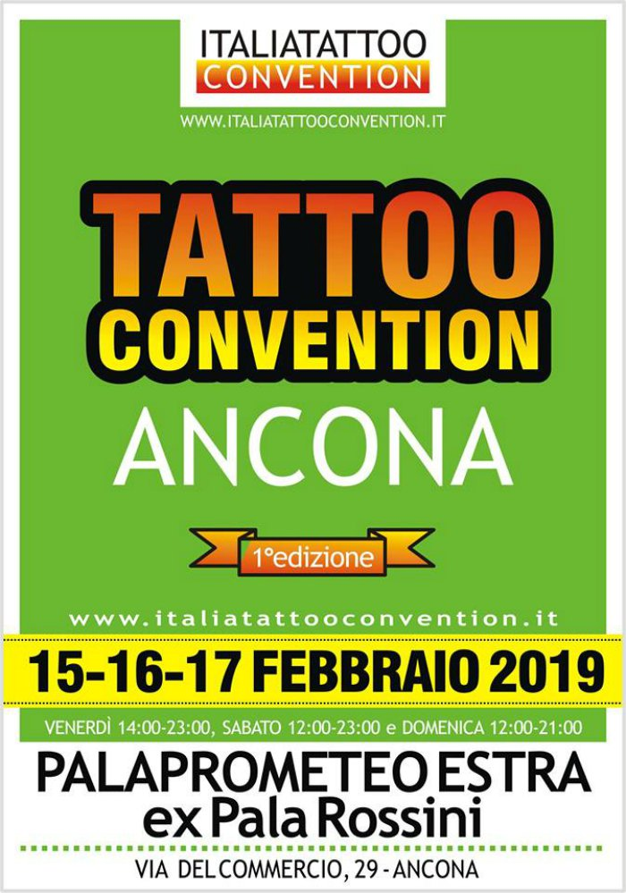 Ancona tattoo convention locandina