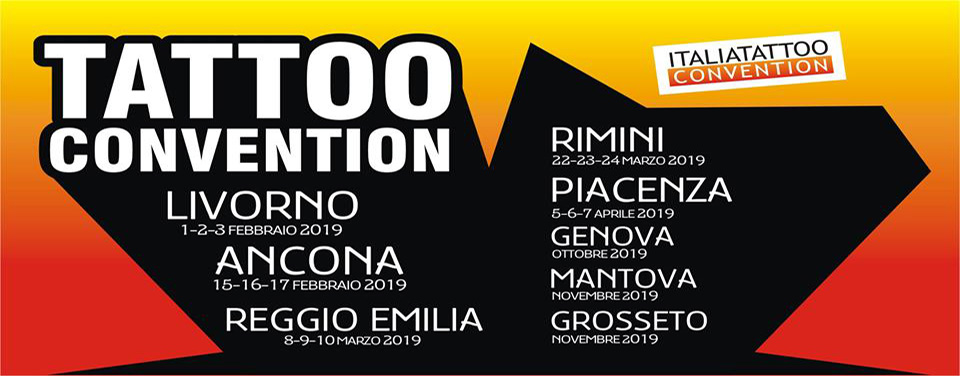 Reggio Emilia tattoo conventionItalia Tattoo Convention