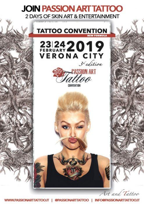 Verona Passion Art Tattoo Convention locandina