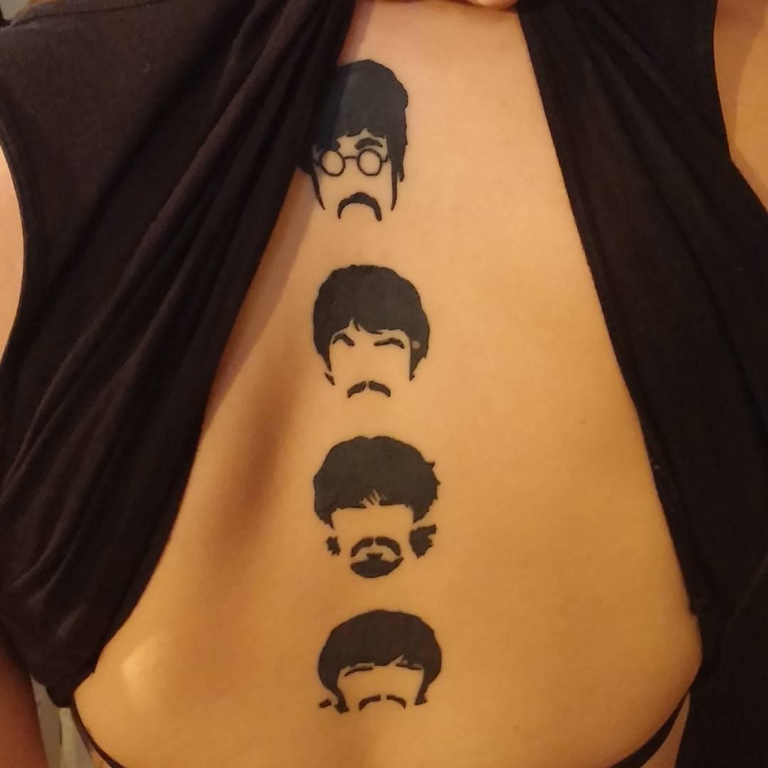tatuaggio beatles by @korda_tattoo_dubrovnik