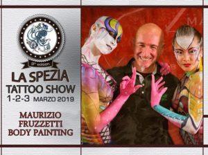 Body painting by Maurizio Fruzzetti