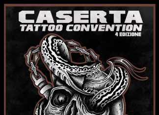 Caserta tattoo convention locandina